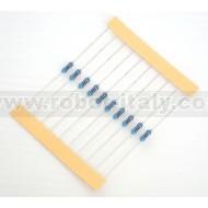 221 Ohm 1/4W 1% Resistor (10pcs)
