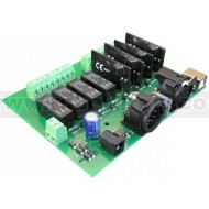 DMX-USB-RX-RLY8 Relay Output Module 4 Relays 4 Dimmer