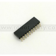 Female Strip 2,54 - 90°  - 10 pin