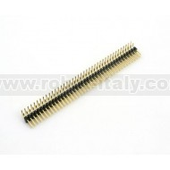 Male Strip 2,54  DIP 90°- 40 pin