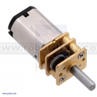 2369 - 210:1 Micro Metal Gearmotor MP 6V