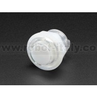Mini LED Arcade Button - 24mm Translucent Clear