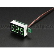 Mini 2-wire Volt Meter (3.2 - 30 VDC)