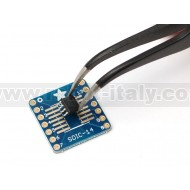 SMT Breakout PCB for SOIC-14 or TSSOP-14 - 6 Pack!