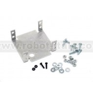 Aluminum Dual Servo Bracket - Brushed (Single)