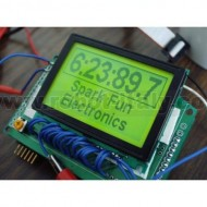 Graphic LCD 128x64 - KS0108 - Green