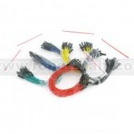 Jumper Wires Premium M/F - 15cm - 100pcs
