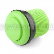 Arcade Push Button 33mm - convex - green