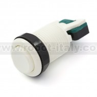 Arcade Push Button 35mm - concave - white
