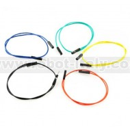 "Jumper Wires Premium M/F - 12"" 10pcs"