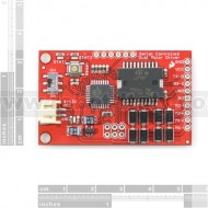2A Serial Controlled Motor Driver L298