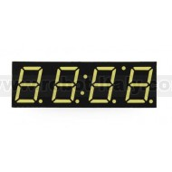 7 Segment led display - 4 digits - CA - white