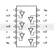 HCF4069UB - HEX Inverter