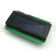 MuIn LCD 4x20 Blu- Multi Interface Display