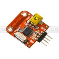 BB-CH340T - USB TO SERIAL CONVERTER WITH CH340T IC, SUITABLE FOR BREADBOARDING