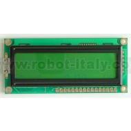 16x2 LCD Display - Green