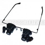MAG-GLASSES - MAGNIFY GLASSES WITH LED LIGHTS AND X20 MAGNIFICATION