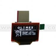 MOD-OLED-128x64 OLED DISPLAY MODULE 27X11MM SIZE AND I2C CONTROL