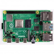 Raspberry Pi 4 Model B board with 2GB LPDDR4 SDRAM