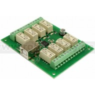 USB-RLY08-B - 8 channel USB relay