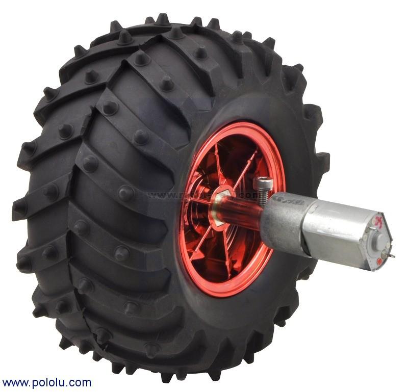 Pololu 20d mm metal gearmotor bracket pair 1138