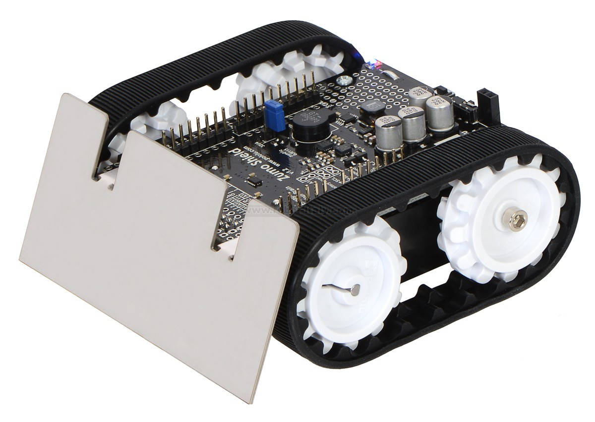 Zumo robot for arduino v assembled with