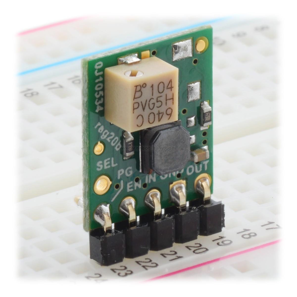 2870 - 5V Step-Up/Step-Down Voltage Regulator w/ Adjustable