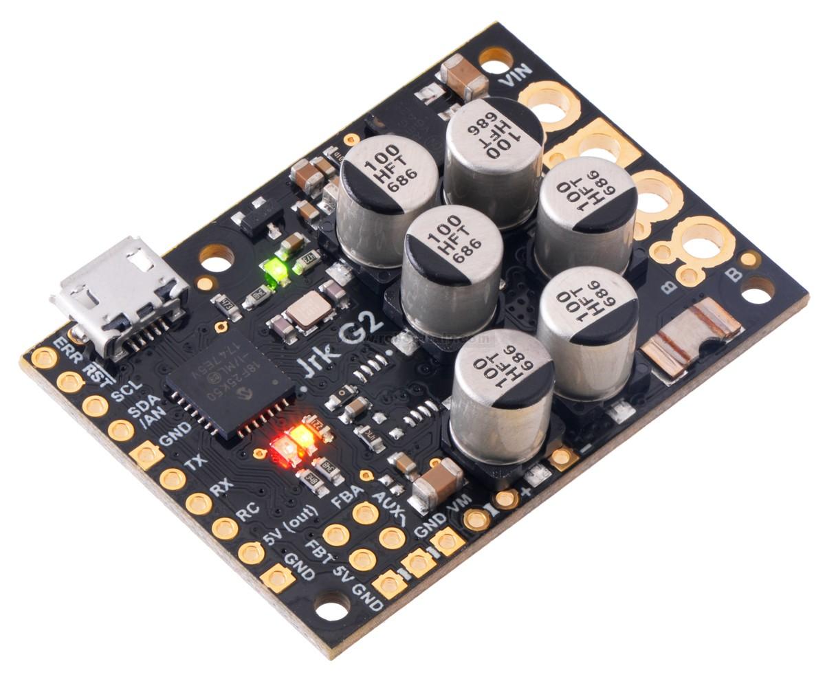 Pololu High-Power Simple Motor Controller G2 24v12 Item 1365