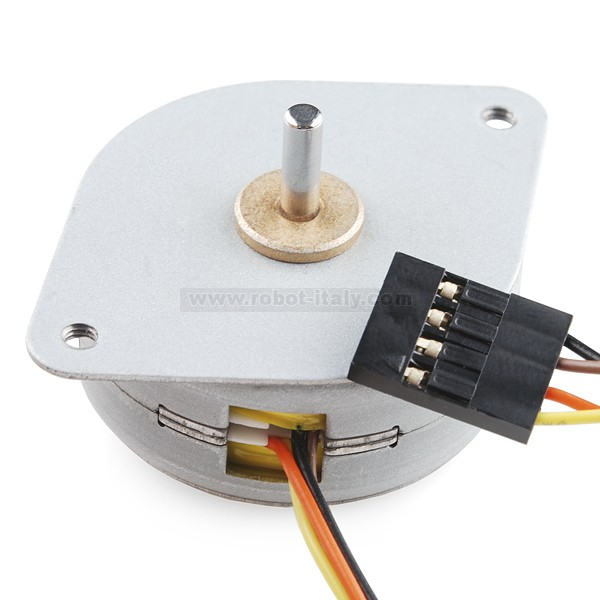 Small stepper motor from sparkfun for for Micro stepper motor datasheet