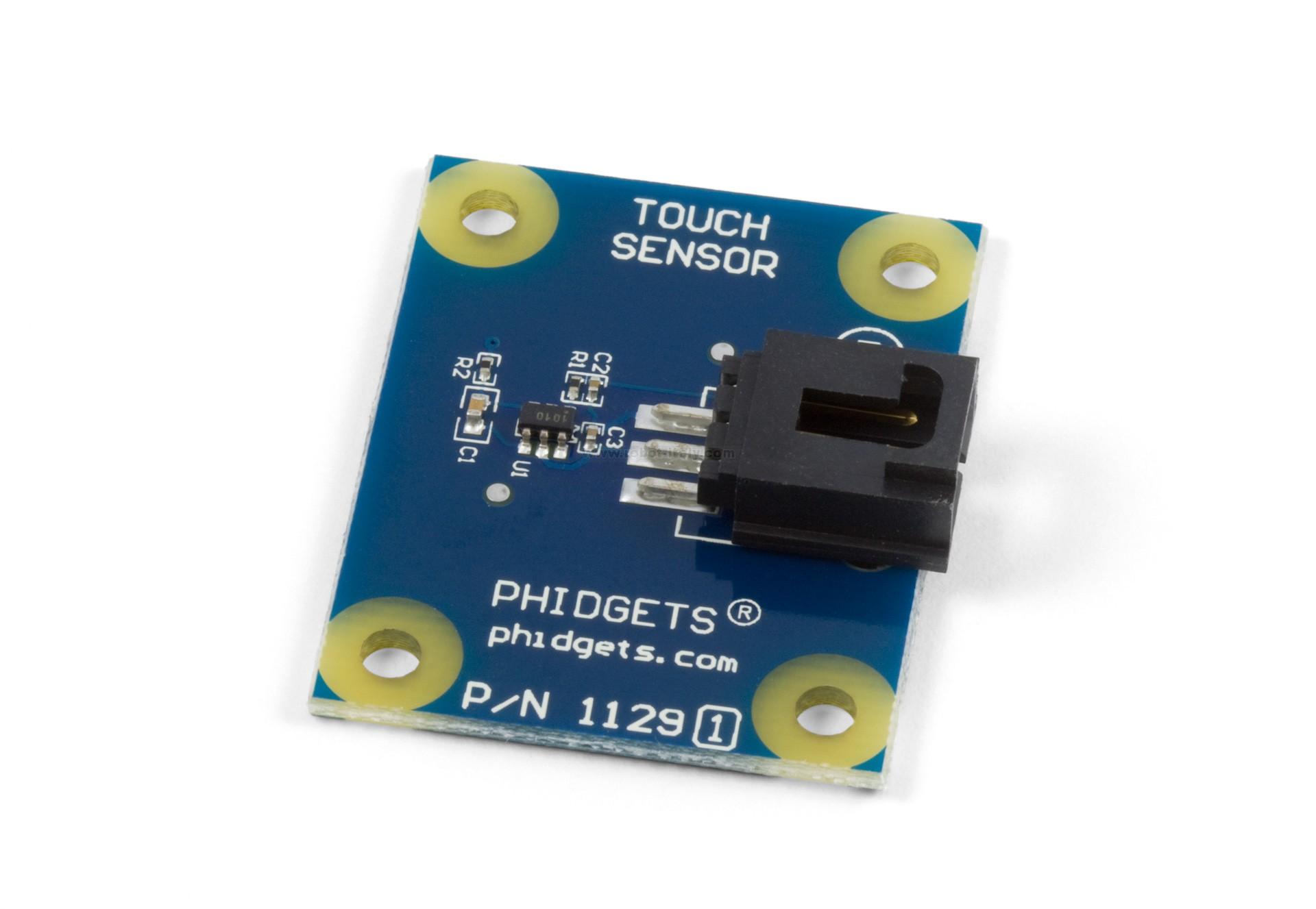 Capacitive Touch Sensor Through Glass