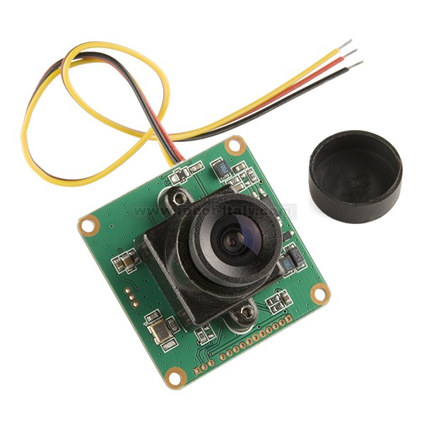 LinkSprite JPEG Color Camera TTL Interface - 2MP