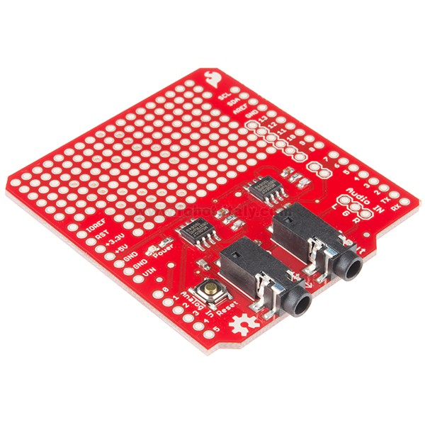 Spectrum shield from sparkfun for