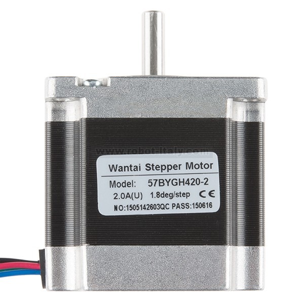 These steppers have a threaded shaft, which allows them to be used as a linear actuator. As the motor runs, it moves along the shaft at a specific rate of ...