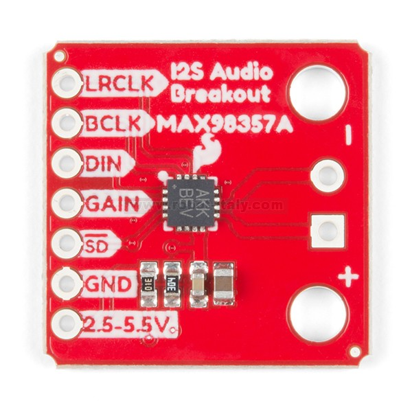 SparkFun I2S Audio Breakout - MAX98357A , from Sparkfun for
