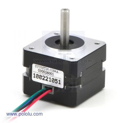 how to connect bipolar stepping motor 4 wires e phase