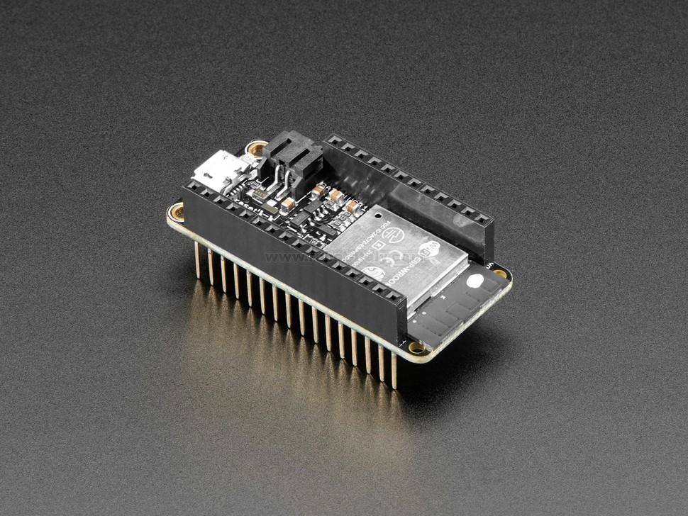 Assembled Adafruit HUZZAH32 – ESP32 Feather Board - with