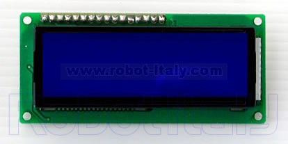 LCD Display 16x2 - Blue , from Vari for €7 02