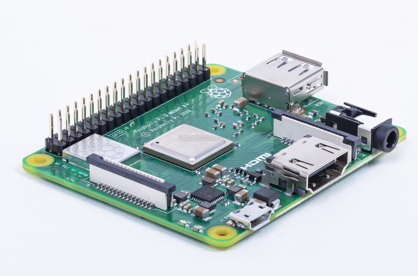 Raspberry Pi 3 Model A+- 1 4GHz 64-bit quad-core processor