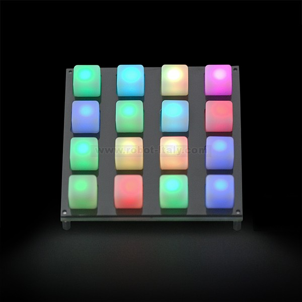 Button Pad 4x4 - LED Compatible , from Sparkfun for €8 85