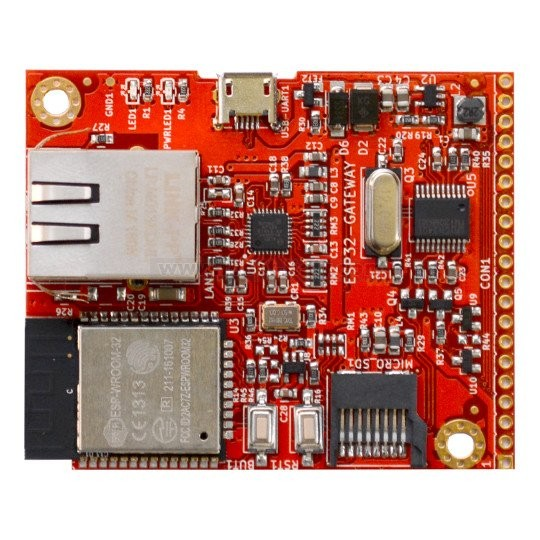 ESP32-GATEWAY DEVELOPMENT BOARD WITH WIFI BLE ETHERNET , from Olimex