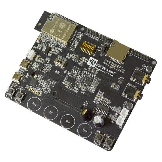 ESP32-LyraT - SPEECH RECOGNITION DEVELOPMENT BOARD , from