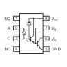 6N138 - Optocoupler with Darlington