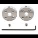 1998 - Pololu Universal Aluminum Mounting Hub for 5mm Shaft, M3 Holes (2-Pack)