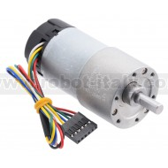 4756 - 131:1 Metal Gearmotor 37Dx73L mm with 64 CPR Encoder (Helical Pinion)