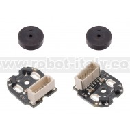 4760 - Magnetic Encoder Pair Kit with Top-Entry Connector for Micro Metal Gearmotors, 12 CPR, 2.7-18V