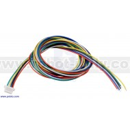 4763 - 6-Pin Female JST SH-Style Cable 30cm