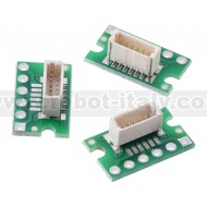 4771- Breakout for JST SH-Style Connector, 6-Pin Male Top-Entry (3-Pack, Untested)