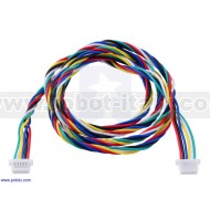 4766 - 6-Pin Female-Female JST SH-Style Cable 16cm