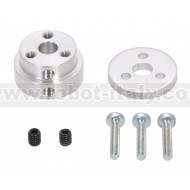 2674 - Pololu Aluminum Scooter Wheel Adapter for 6mm Shaft