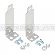 Bracket Pair for Sharp GP2Y0A02, GP2Y0A21, and GP2Y0A41 Distance Sensors - Perpendicular